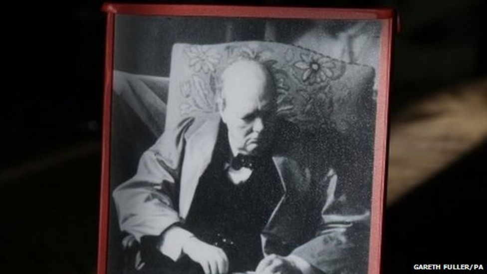 Winston Churchill death