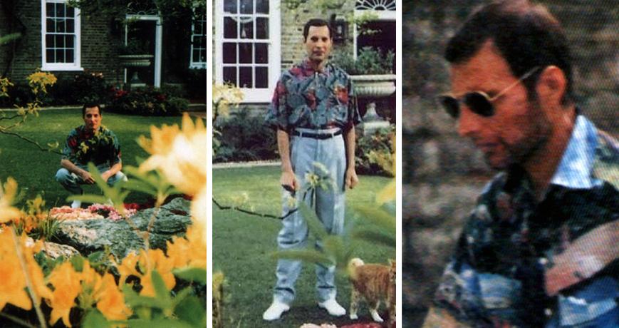 Freddie Mercury death